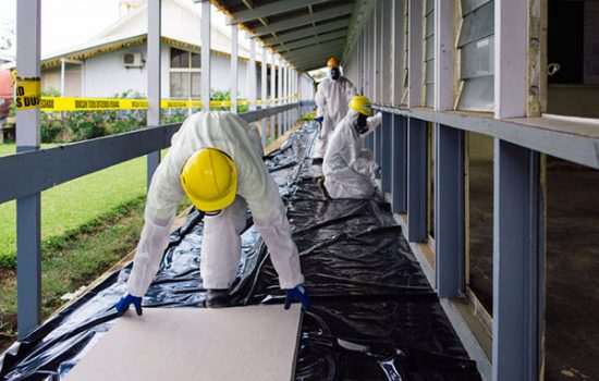 Asbestos Removal Scaffolding
