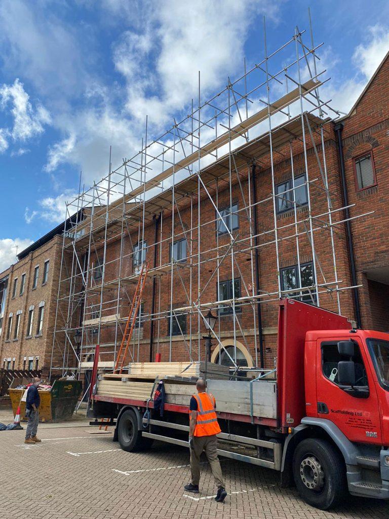 Scaffolding company in London